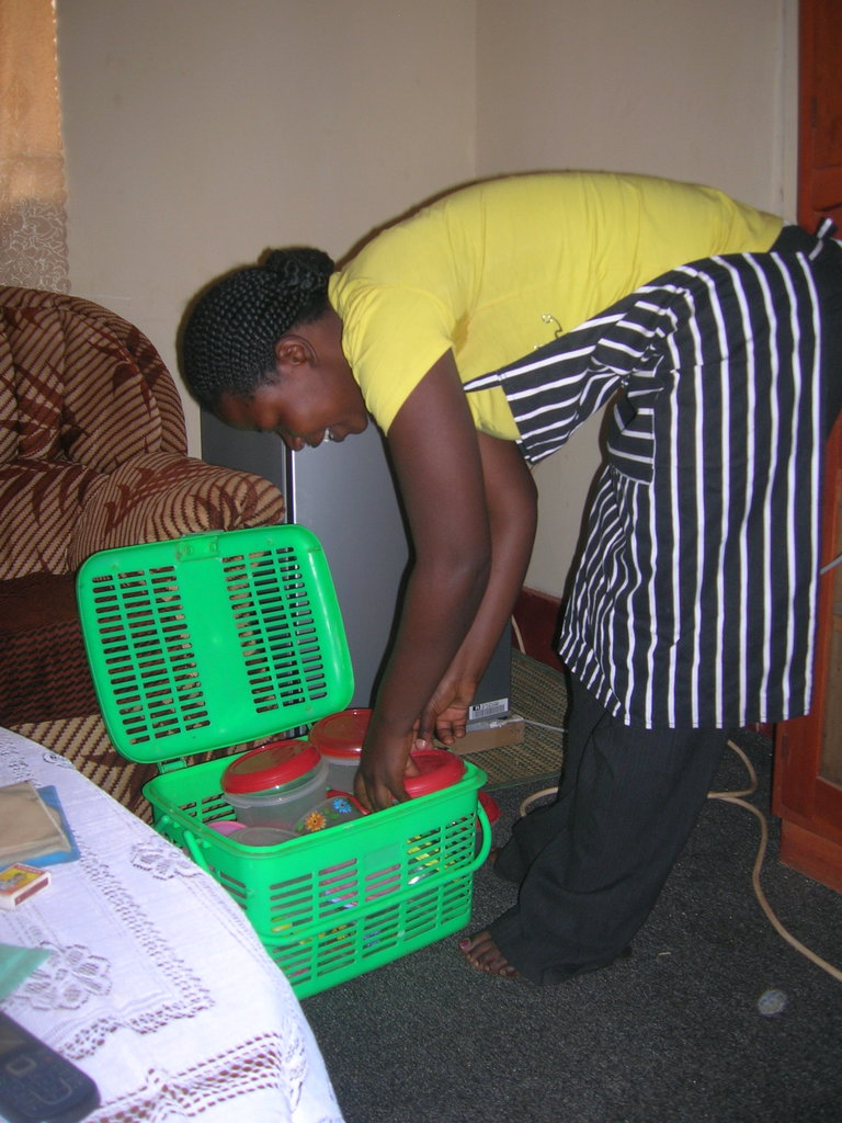 Help Rose expand her grocery business in Uganda