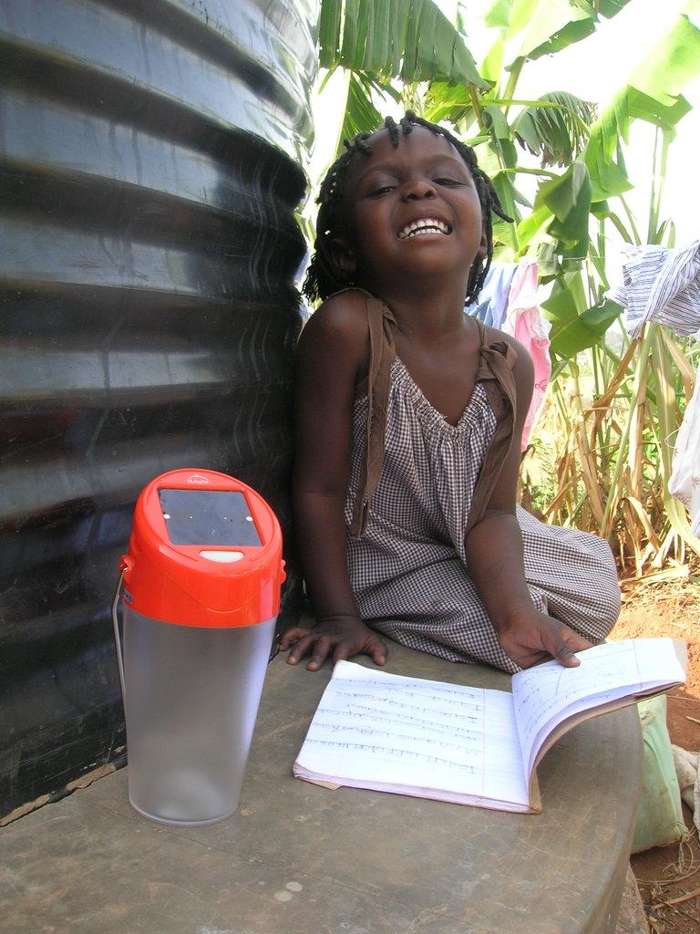 Provide solar lamps to 20 school girls in Uganda