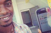Smart phones for 100 Ebola health workers