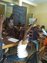 Assoumaou Leading an Engineering Class