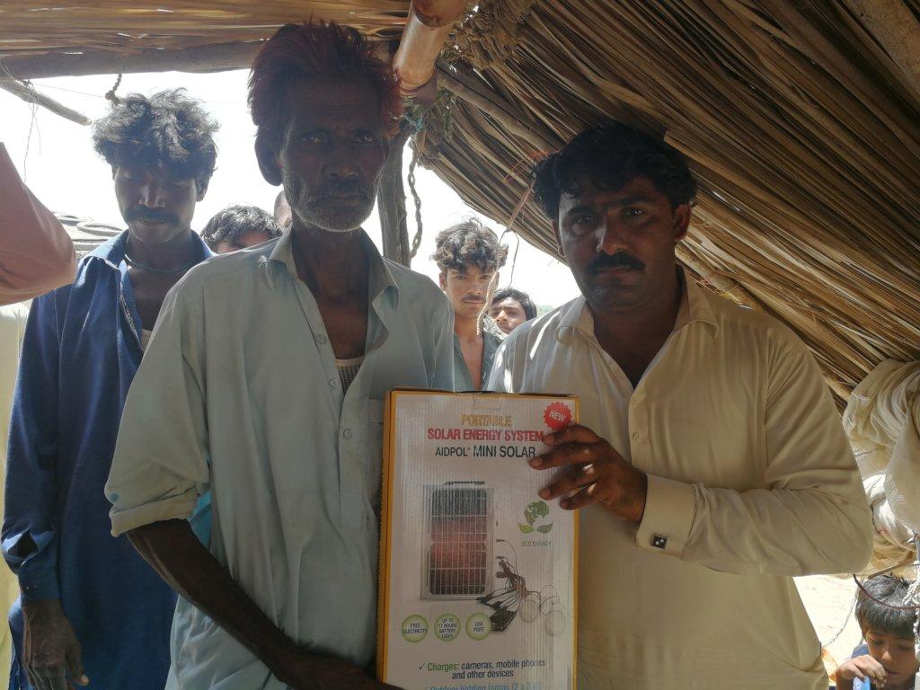 Mini Solar Light for Bajan communities
