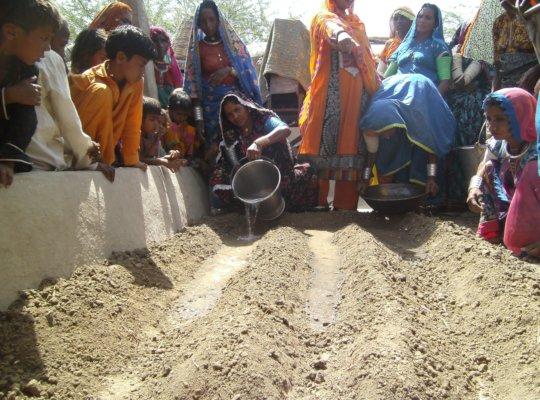 women training on Kitchen Gardening