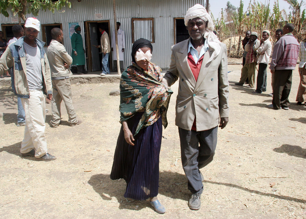Simple Surgery to restore Sight to Ethiopians