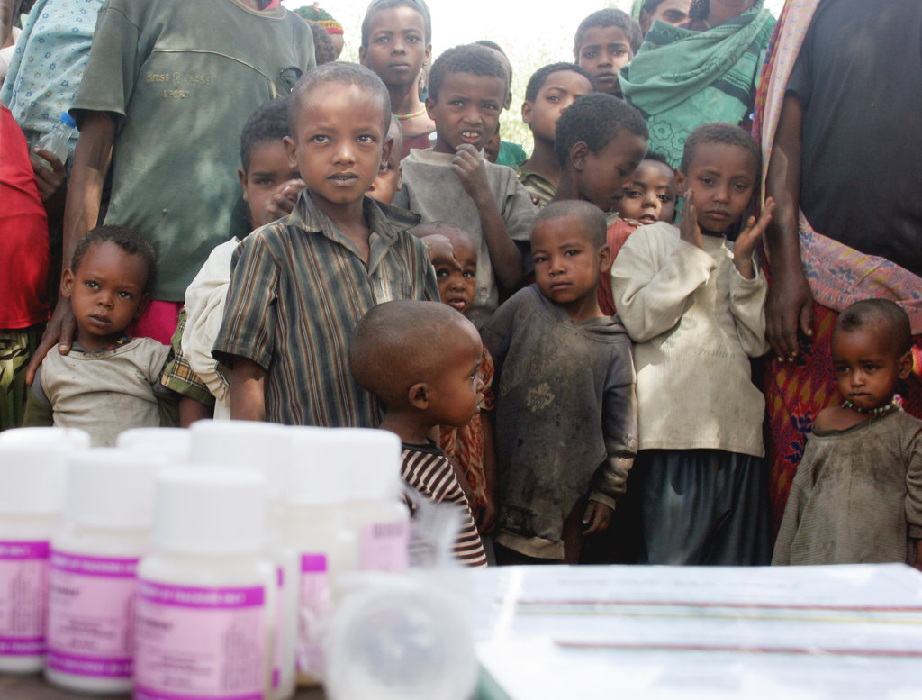 Distributing Antibiotics to Prevent Blindness