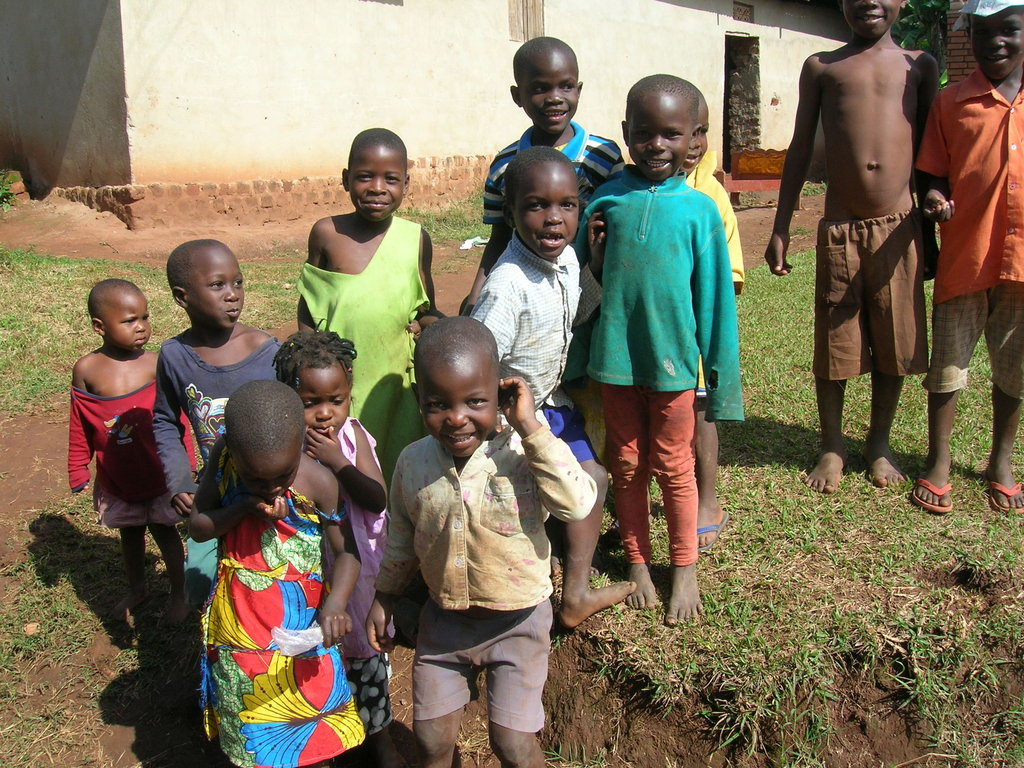 Buy new school shoes for 10 orphans in Uganda