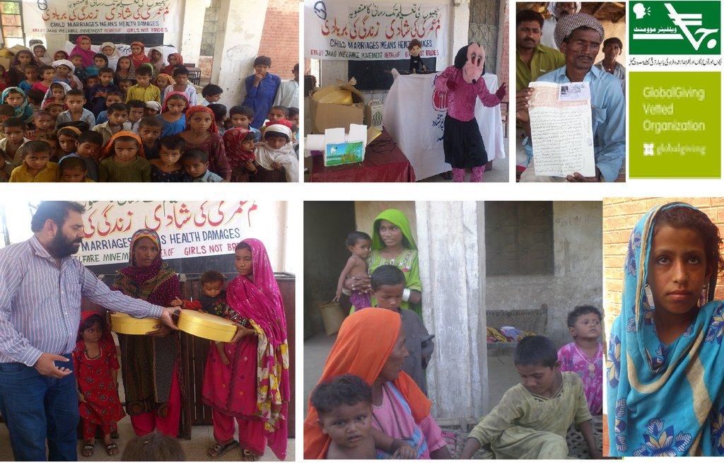 Empower 100 Child Brides in Pakistan