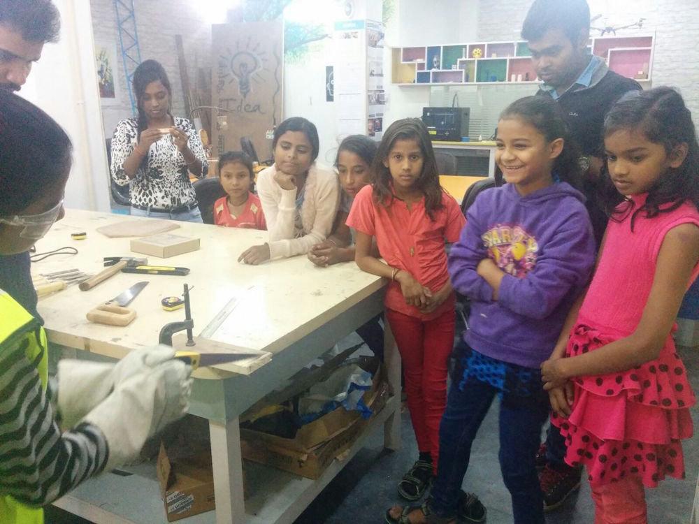 Jugaad (Innovation) Lab for Disadvantaged Girls