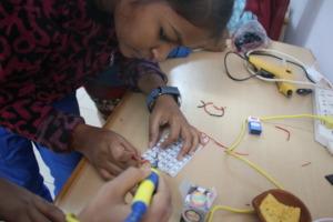 Making Solar Lamp