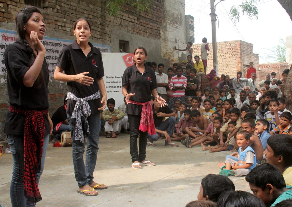 Give GIRLS in India a CHANCE at life
