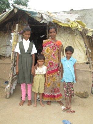Kajal and her family