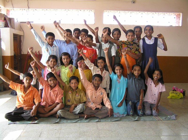 100% of children in this village now go to school