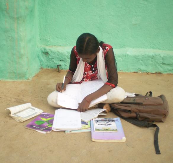 Prajakta busy with her studies