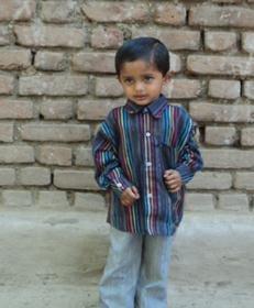Shravan, now healthy and happy