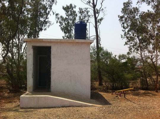 New toilets in schools