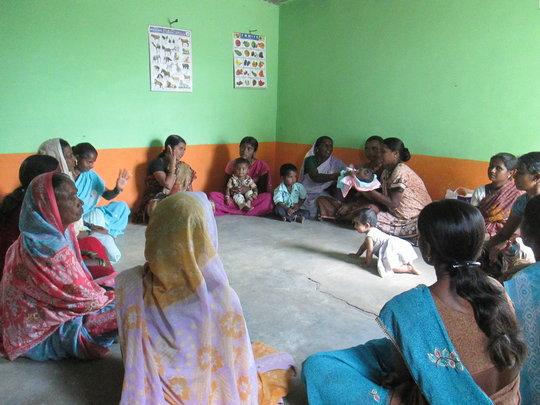Women's Self-Help Group Meeting