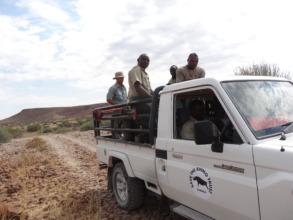 Rhino Rangers on patrol