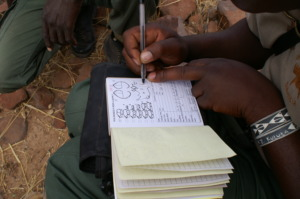 Data capture in the field by Rhino Ranger