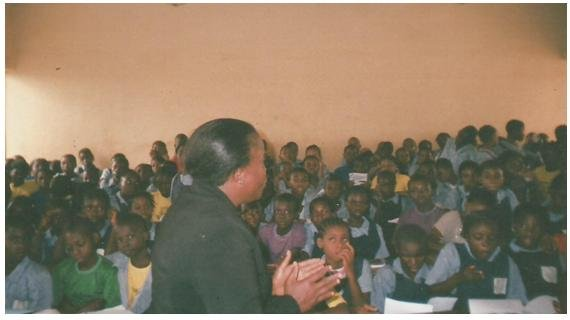 Provides Learning Materials to 500 Students