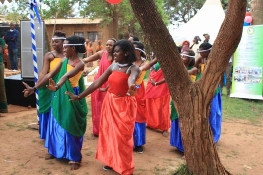 Rwandan Cultural Dancers