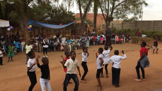 Children's Party Celebrations in our Compound