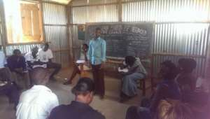 English debate in our new classroom
