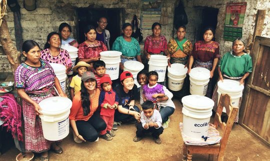 Sustainable Water Filtration in Guatemala