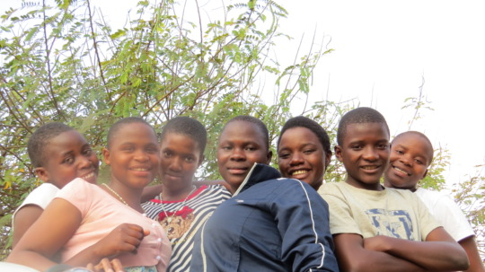 Beneficiaries of EKARI's 3 Meals a Day Program