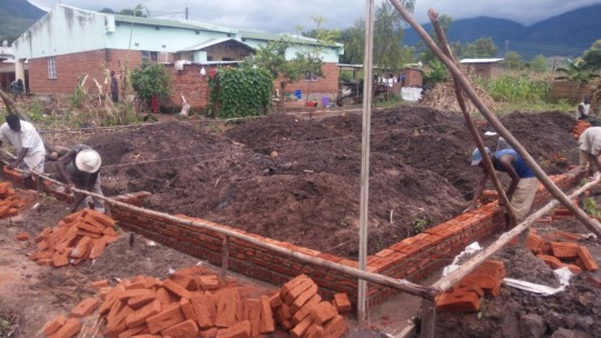 Beginning to lay foundation for student home