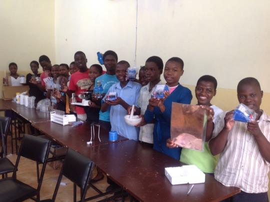 EKARI students in Tutoring Program lesson