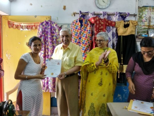 Certificates- Sewing Class
