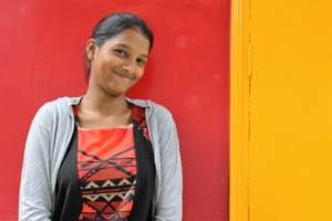 Having a female teacher was important to Rupa