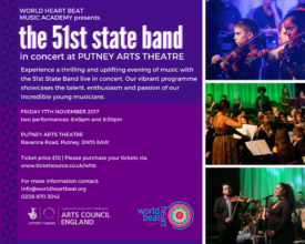 Warmly invited to The 51st State Band