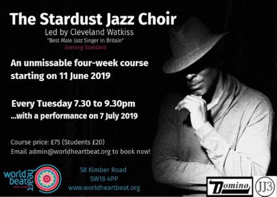 Stardust Jazz Improvising Choir