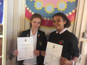 Exam success for WHB