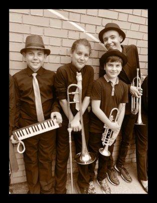 Second Line Band pre-show