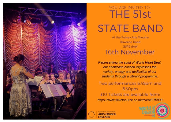 51t State Band Concert at Putney Arts Theatre