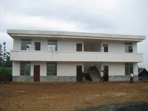 Picture of the new school building