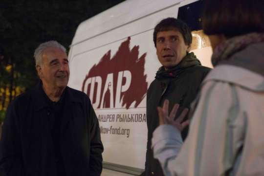 Michel Kazatchkine visits the night outreach