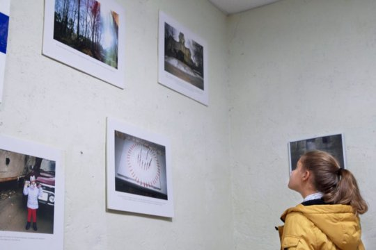 Positive moments: exibition of drug users photos
