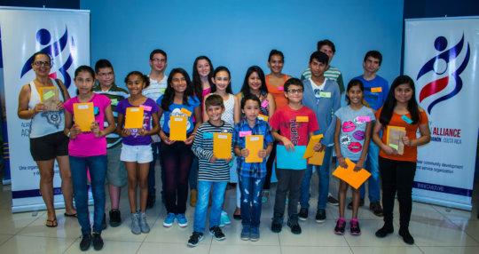 CAA Scholarship Students, Second Term 2016