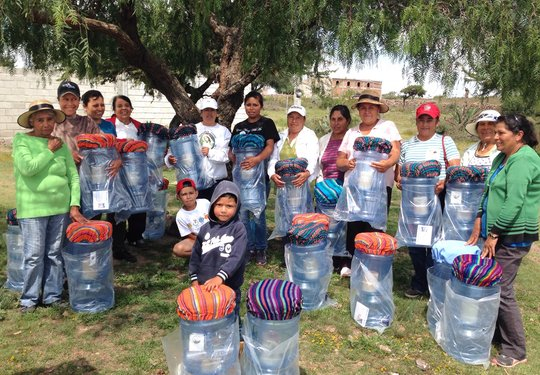 Families receiving water filtration systems