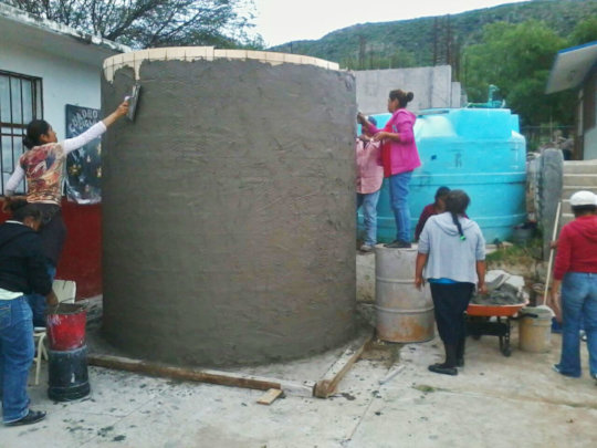 First cistern in Palo Colorado with Casita Linda