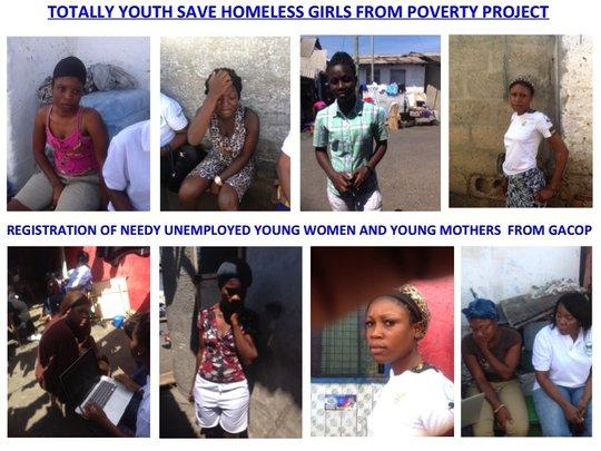 Kayayei Viewing Video on their Plight (MHC)