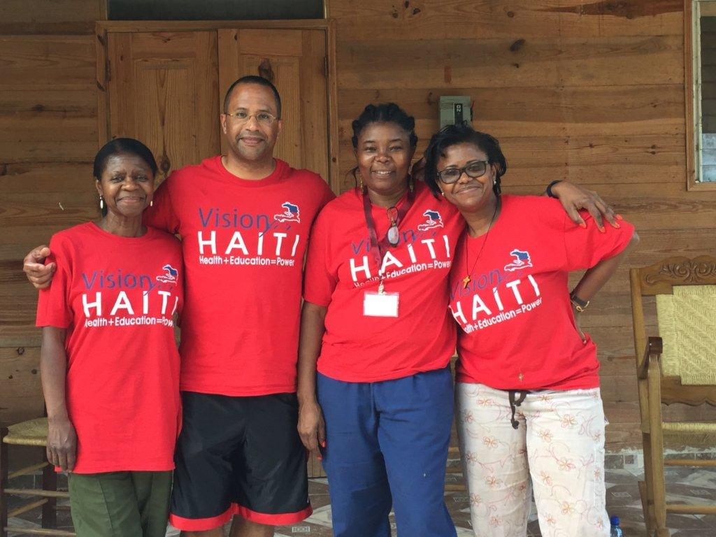 The Vision for Haiti Team