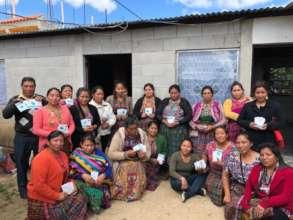 Tecpan Women's Group has seeds!