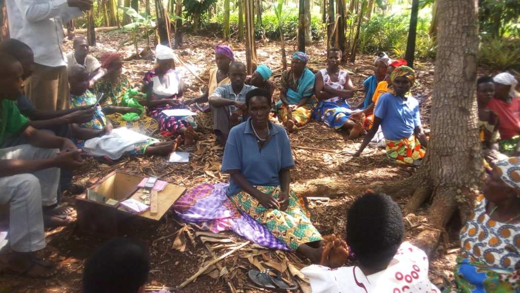 Open air classroom, meeting women where they are.