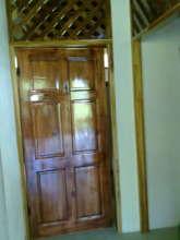 Door to female's restroom