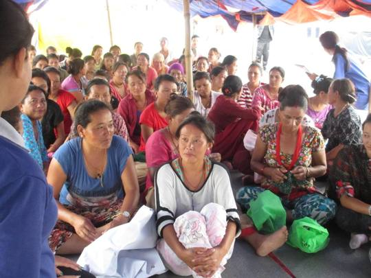 Women learn of their rights and services available