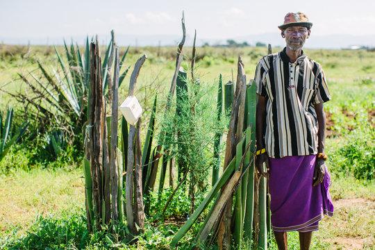 A beneficiary of Sadhana Forest Kenya