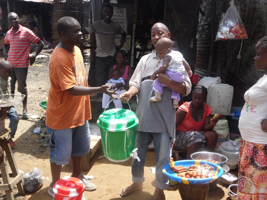 Support Neighborhood Clinics in Liberia